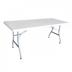 Τραπέζι συνεδρίου 180x76cm πτυσσόμενο λευκό c10221