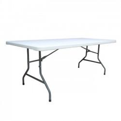 Τραπέζι συνεδρίου 198x90cm πτυσσόμενο λευκό c10593