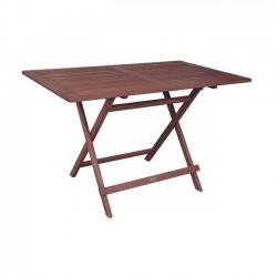 Τραπέζι 120x70cm  πτυσσόμενο acacia c11271