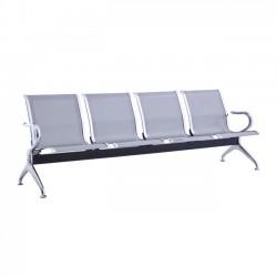 Κάθισμα υποδοχής 4 θέσεων χρωμίου c20329