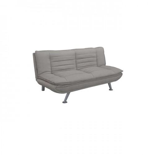 Καναπές κρεβάτι ύφασμα μπεζ 183x88x85cm c35097