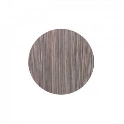 Επιφάνεια τραπεζιού φ70cm zebrano rustic c9076