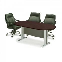 Τραπέζι συνεδρίου oval 240x120cm wenge c9478