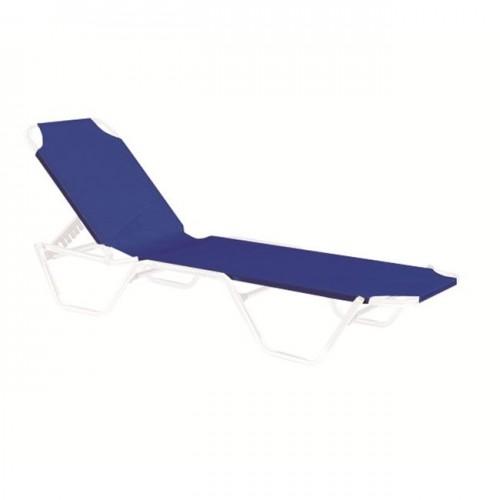 Textilene ξαπλώστρας μπλε 200x62cm (1x2-540g/m2) c9663