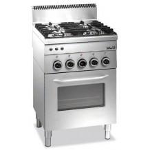 Κουζίνα ηλεκτρική 4 εστιών με φούρνο 225KR2