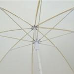 Oμπρέλα θαλάσσης λευκή c13953