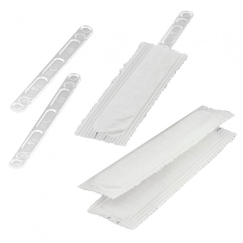 20 Πακέτα με 50 Πλαστικους Αναδευτήρες ροφημάτων διάφανοι σε χάρτινη ατομικη συσκευασία  8 8cm c140326