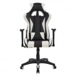 Πολυθρόνα Gaming με ανάκλιση 180 μοιρών μαύρο λευκό c14492