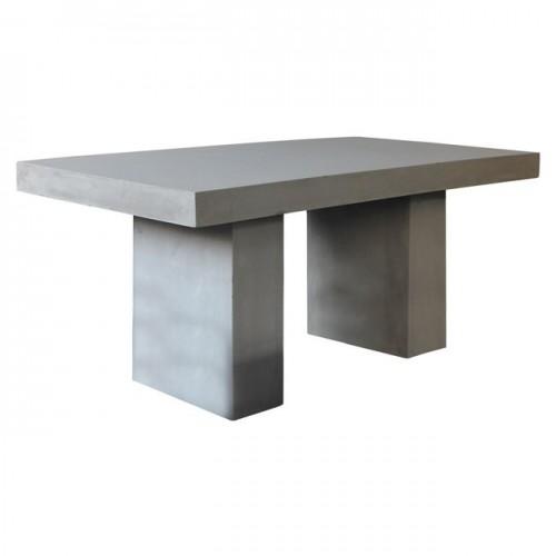CONCRETE Τραπέζι 160x90cm Cement Grey c152029