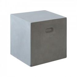 CONCRETE Cubic Σκαμπώ 37x37cm Cement Grey c152031