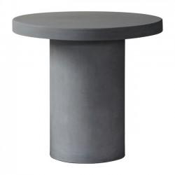 CONCRETE Cylinder Τραπέζι D 80cm Cement Grey c152035