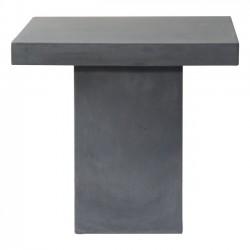 CONCRETE Cubic Τραπέζι 80x80cm Cement Grey c152036
