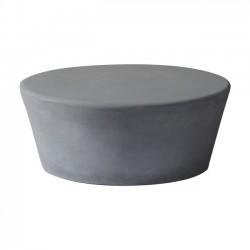 CONCRETE Τραπ Σαλονιού D 75cm Cement Grey c152037