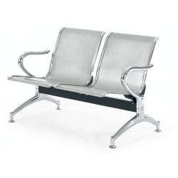 Κάθισμα αναμονής 2 θέσεων χρωμίου ag262a