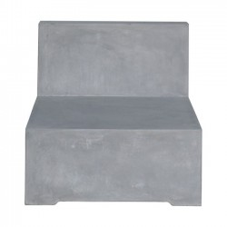 CONCRETE Καρέκλα Cement Grey 68x83x65cm c169720