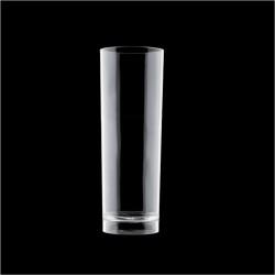 Σετ 102 πλαστικά ποτήρια SAN πισίνας 24cl 5 3x15cm διάφανα c179129