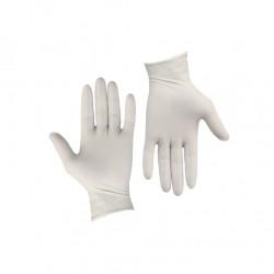 Σετ 100τεμ γάντια λάτεξ ελαφρώς πουδραρισμένα SMALL c204006