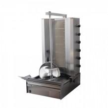 Μηχανή γύρου αερίου με 7 οριζόντιους καυστήρες μοτέρ κάτω