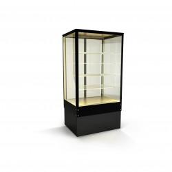 Inox ψυγείο συντήρησης βιτρίνα για ζαχαροπλαστείο σνάκ 190 id