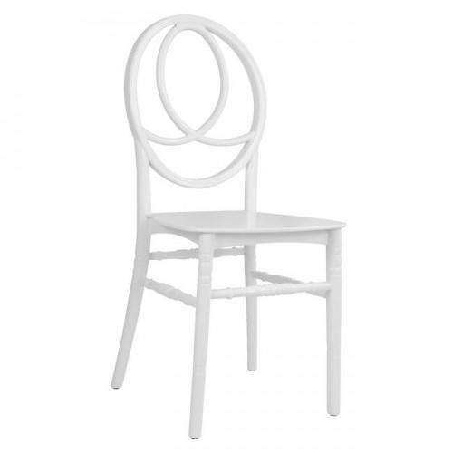 Καρέκλα πολυπροπυλενίου λευκή Phonex c22675