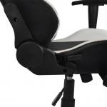 Πολυθρόνα Gaming με ανάκλιση 180 μοιρών μαύρη-λευκή c22763