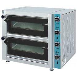 Ηλεκτρικός φούρνος πίτσας διπλός 800