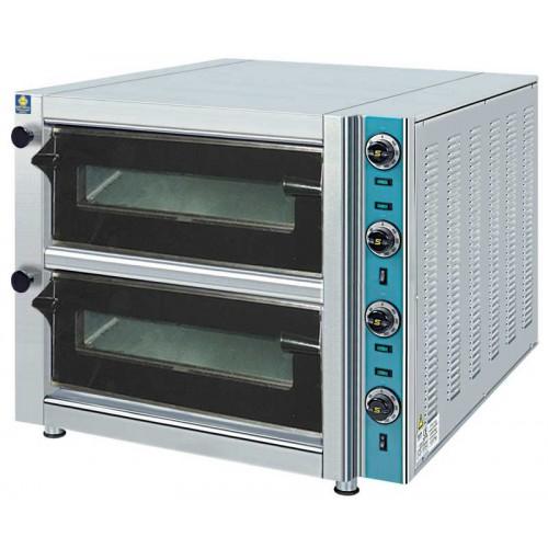 Ηλεκτρικός φούρνος πίτσας διπλός 1100