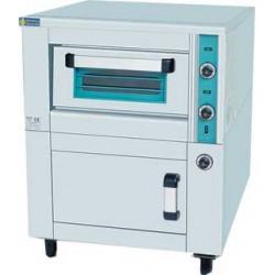 Ηλεκτρικός φούρνος πίτσας μονός με θερμοθάλαμο 1110
