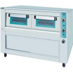 Ηλεκτρικός φούρνος πίτσας μονός με θερμοθάλαμο 1480