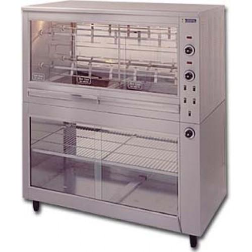Ηλεκτρική κοτοπουλιέρα με σούβλες και θερμοθάλαμο 1340