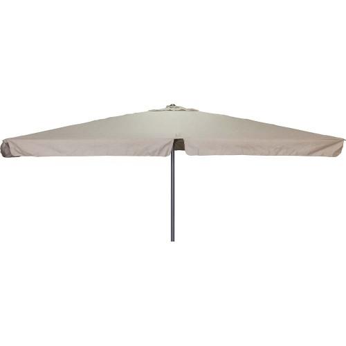 Ομπρέλα 3x3m Σκούρη Εκρού 12134