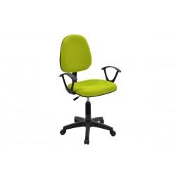 Πολυθρόνα γραφείου εργασίας Maria ύφασμα mesh χρώμα πράσινο c35084