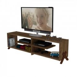 Έπιπλο TV σε χρώμα καρυδί c35174
