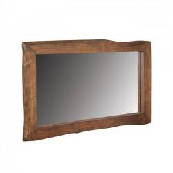Καθρέπτης από μασίφ ξύλο ακακίας c35310