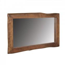 Καθρέπτης από μασίφ ξύλο ακακίας c35311
