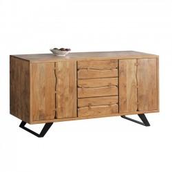 Μπουφές από μασίφ ξύλο ακακίας c35318