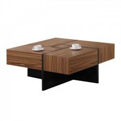 Τραπέζι σαλονιού καρυδί μελί mdf c35747