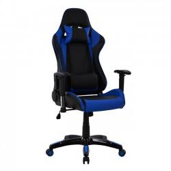 Πολυθρόνα Gaming μαύρη μπλε c36816