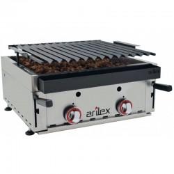 Barbecue αερίου επιτραπέζιο με ηφαιστειακή πέτρα 60bar c37713