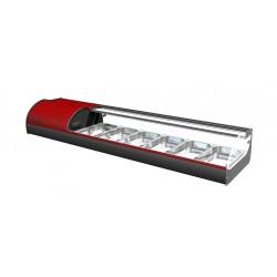 Βιτρίνα sushi onix 8 red c38255
