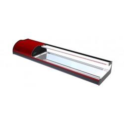 Βιτρίνα sushi cold plate 8 red c38282