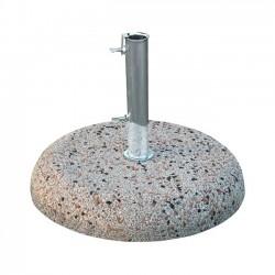 Βάση ομπρέλας τσιμεντένια 50 κιλών HM5476 50 με σωλήνα διαμέτρου Φ62 c39190