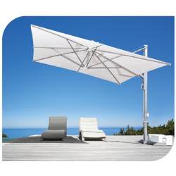Ομπρέλα κρεμαστή με σκελετό αλουμινίου inox 3.5*3.5 25pi