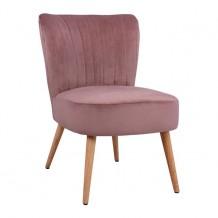 Καρέκλα CARISSA σάπιο μήλο βελούδο HM8404 02 c47657