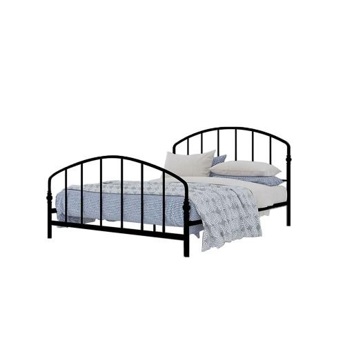BAYA κρεβάτι για στρώμα 150x200cm μαύρο 200x150xH107cm c58746
