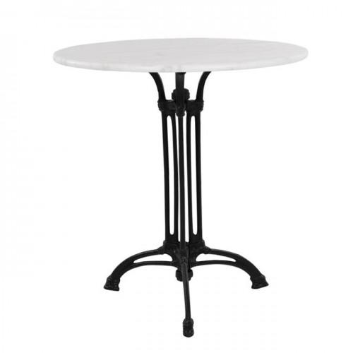Τραπέζι με 3νυχη βάση από μαντέμι HM5609 με μάρμαρο Φ60 c59189