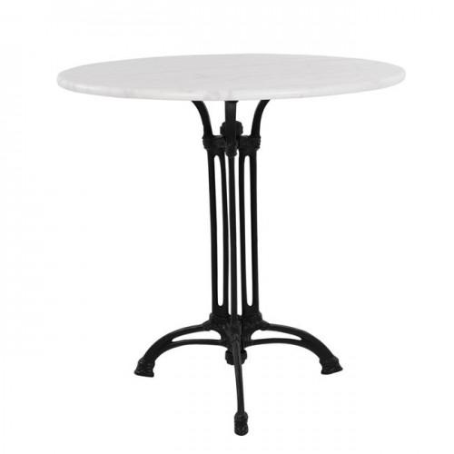 Τραπέζι με 3ΝΥΧΗ βάση από μαντέμι HM5610 με μάρμαρο Φ70Χ74Υεκ c59190