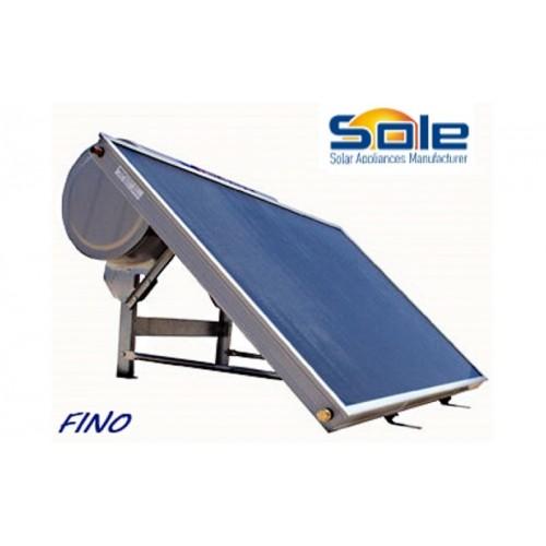 Ηλιακός θερμοσίφωνας 200 λίτρων διπλής ενέργειας χαμηλού ύψους 12so