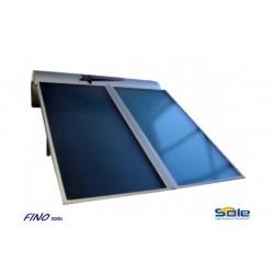 Ηλιακός θερμοσίφωνας 300 λίτρων διπλής ενέργειας χαμηλού υψους 12so