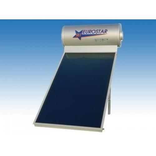 Ηλιακός θερμοσίφωνας 120 λίτρων με 1συλλεκτη μπλέ τιτανίου